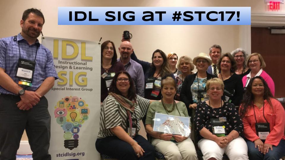 IDL SIG at #STC17! (1)