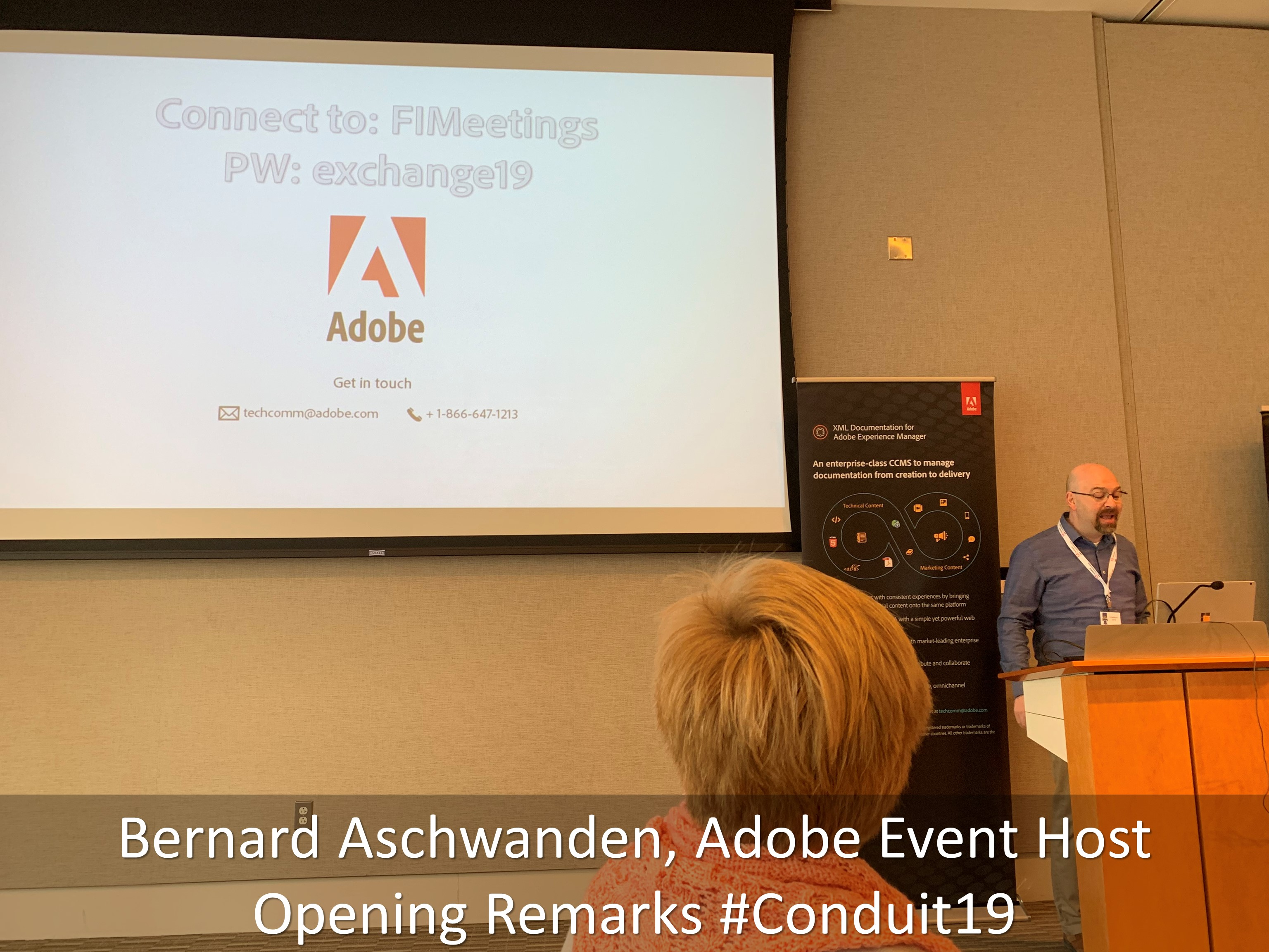 04 Bernard Aschwanden Adobe Event Host Opening Remarks Conduit19