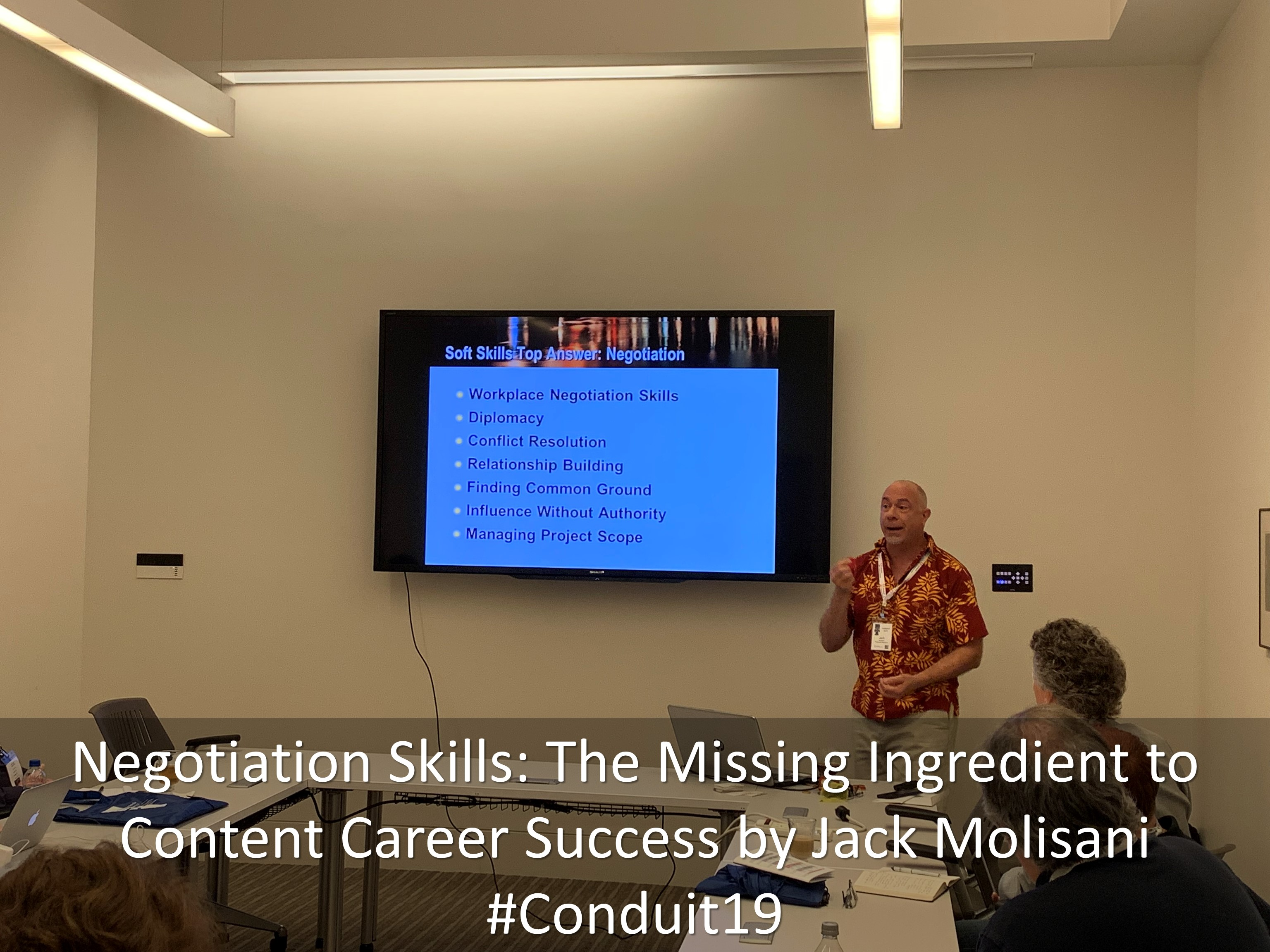 08 Negotiation Skills The Missing Ingredient to Content Career Success by Jack Molisani Conduit19
