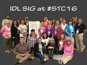 IDL SIG at #STC16