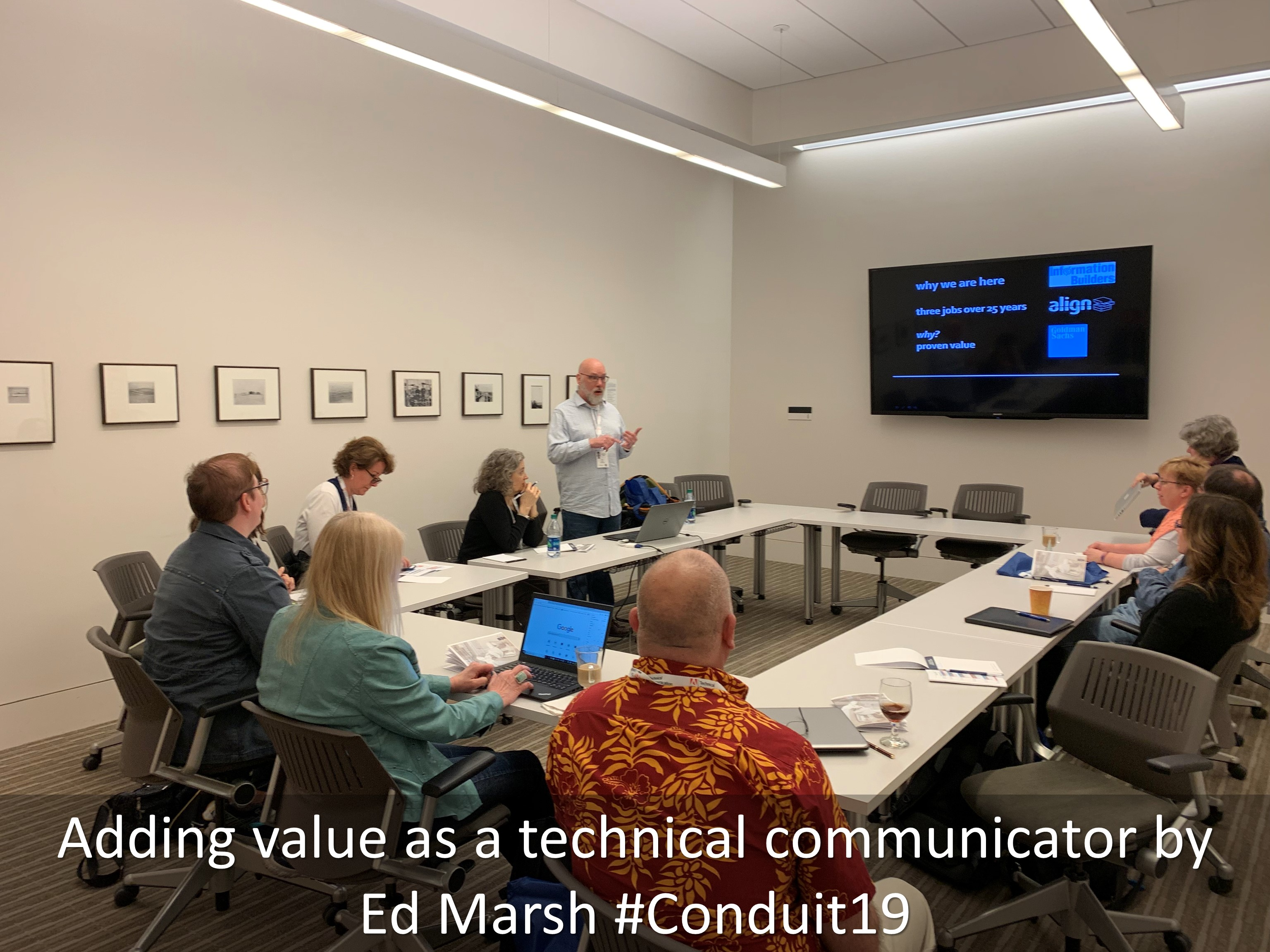 06 Adding value as a technical communicator by Ed Marsh Conduit19