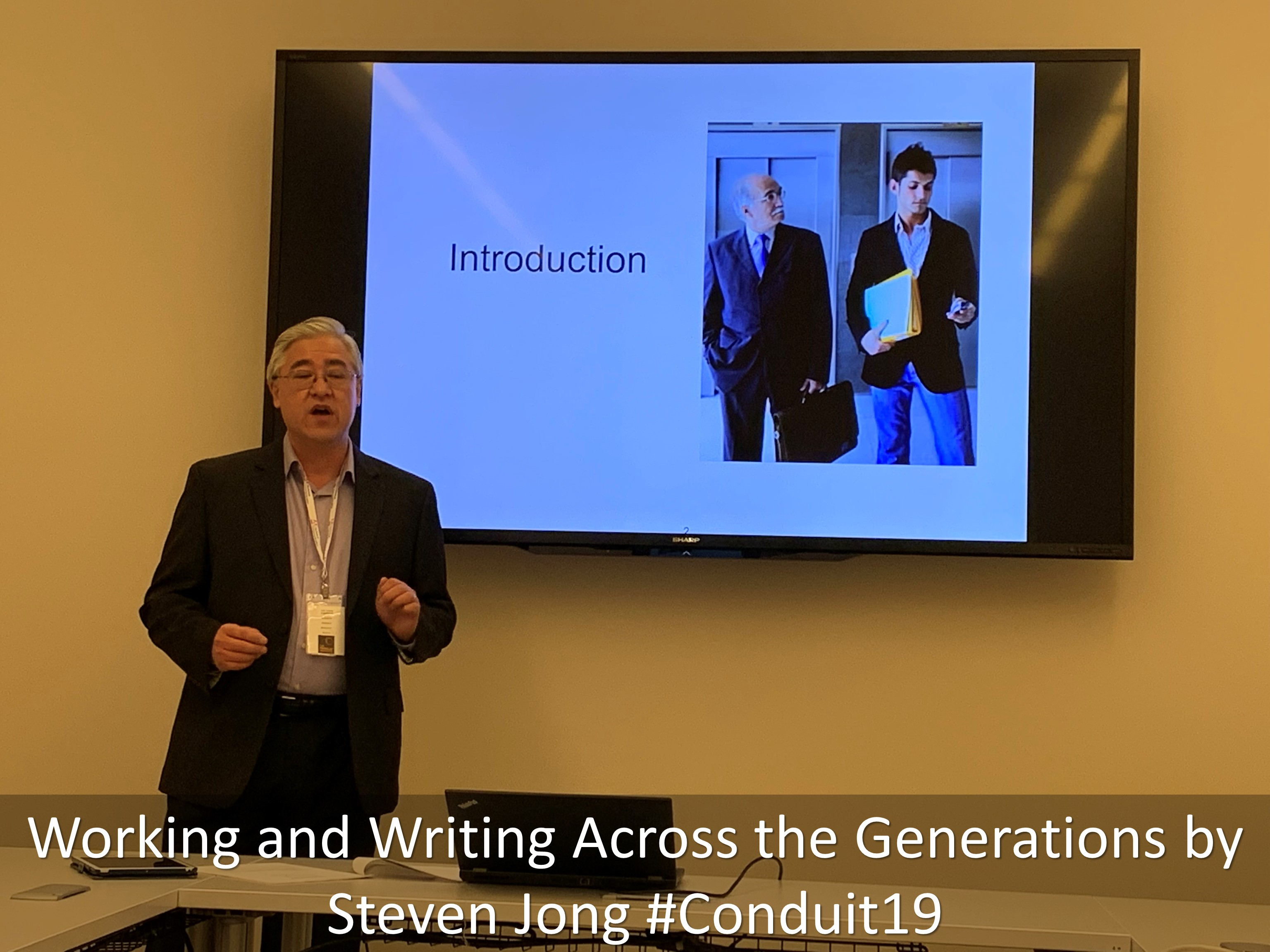 10 Working and Writing Across the Generations by Steven Jong Conduit19