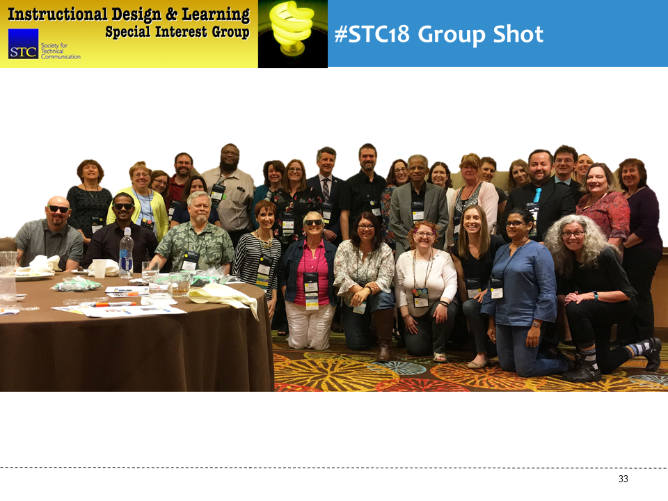 IDL SIG Business Meeting Group Shot